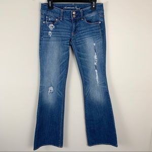 American Eagle Outfitters Distressed Artist Jeans